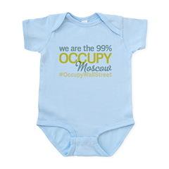 Occupy Moscow Infant Bodysuit