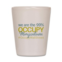 Occupy Morgantown Shot Glass
