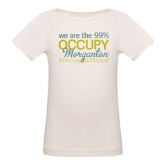 Occupy Morganton Organic Baby T-Shirt