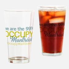 Occupy Montréal Drinking Glass