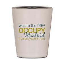 Occupy Montréal Shot Glass