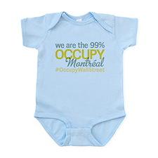 Occupy Montréal Infant Bodysuit