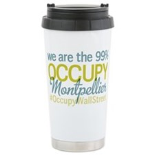 Occupy Montpellier Travel Mug