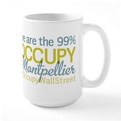 Occupy Montpellier Large Mug