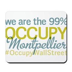 Occupy Montpellier Mousepad