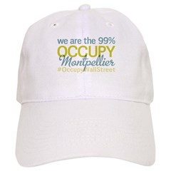 Occupy Montpellier Baseball Cap