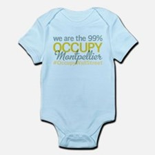 Occupy Montpellier Infant Bodysuit
