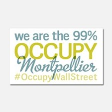 Occupy Montpellier Car Magnet 20 x 12