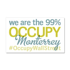Occupy Monterrey Car Magnet 20 x 12