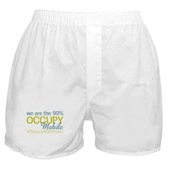 Occupy Mobile Boxer Shorts