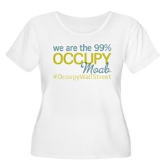 Occupy Moab Women's Plus Size Scoop Neck T-Shirt