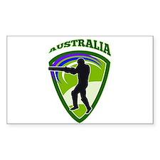 cricket batsman Australia Stickers