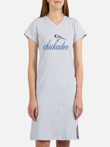 cute lil' chickadee Women's Nightshirt