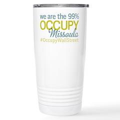 Occupy Missoula Travel Mug