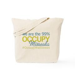Occupy Missoula Tote Bag