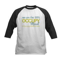 Occupy Minot Kids Baseball Jersey