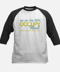 Occupy Minot Kids Baseball Jersey