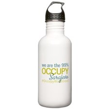 Occupy Sarajevo Water Bottle