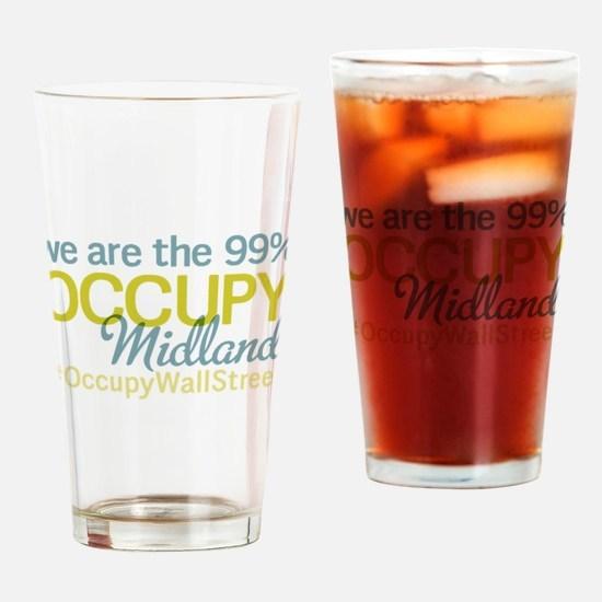 Occupy Midland Drinking Glass