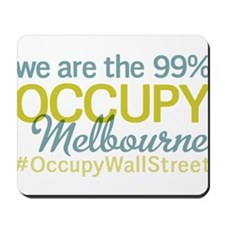 Occupy Melbourne Mousepad