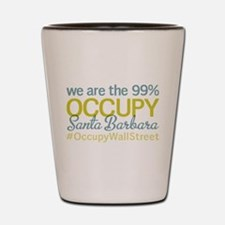 Occupy Santa Barbara Shot Glass