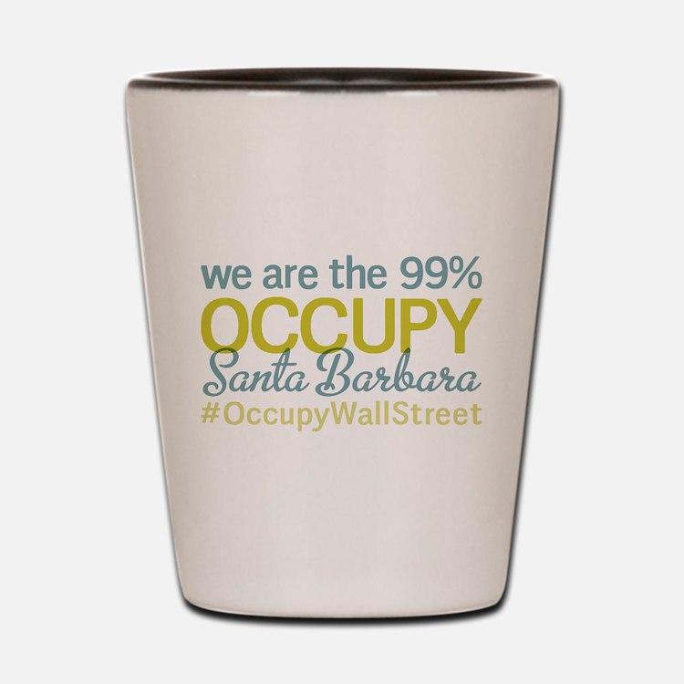 Occupy Santa Barbara Shot Glass