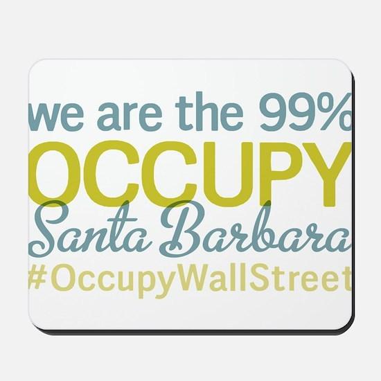 Occupy Santa Barbara Mousepad