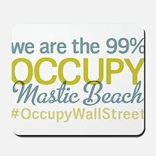 Occupy Mastic Beach Mousepad