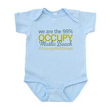 Occupy Mastic Beach Infant Bodysuit