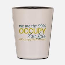 Occupy San Luis Obispo Shot Glass
