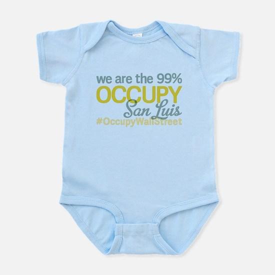 Occupy San Luis Obispo Infant Bodysuit