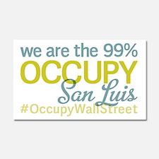 Occupy San Luis Obispo Car Magnet 20 x 12