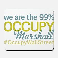 Occupy Marshall Mousepad