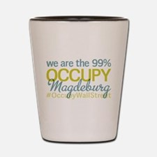 Occupy Magdeburg Shot Glass