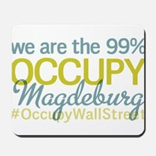Occupy Magdeburg Mousepad