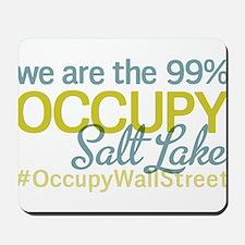 Occupy Salt Lake City Mousepad