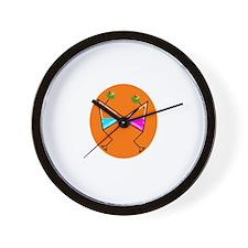 Martini Dance Wall Clock