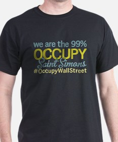 Occupy Saint Simons Island T-Shirt
