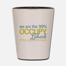 Occupy Lübeck Shot Glass