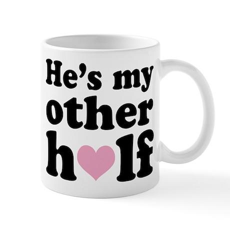 Couples He's My Other Half Mug
