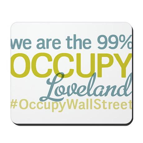 Occupy Loveland Mousepad