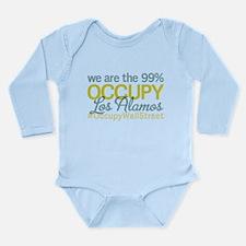 Occupy Los Alamos Long Sleeve Infant Bodysuit