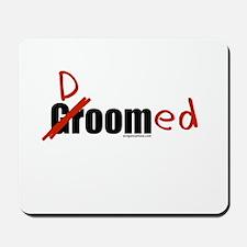 Funny wedding groom/doomed Mousepad