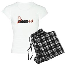 Funny wedding groom/doomed Pajamas