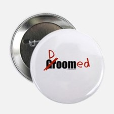 "Funny wedding groom/doomed 2.25"" Button"