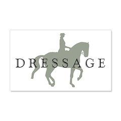 Piaffe w/ Dressage Text Wall Decal