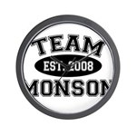 Team Monson Wall Clock