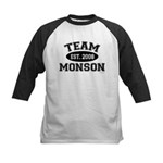 Team Monson Kids Baseball Jersey