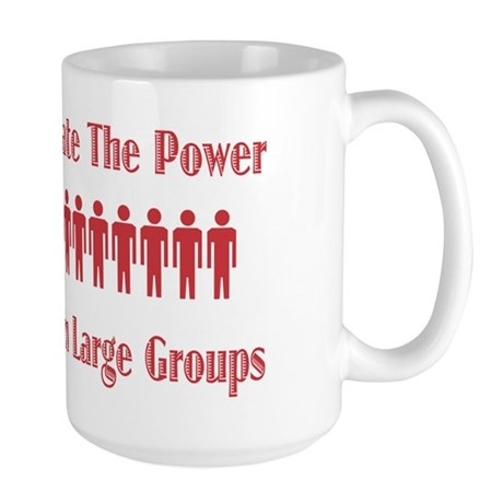 Never Underestimate Large Mug