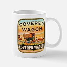 Covered Wagon Cigar Label Mug